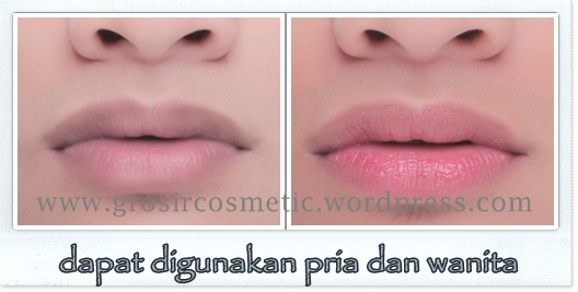 Immortal Essential Intense Pink Lip before after